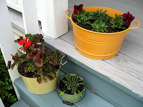 Pots on the Porch