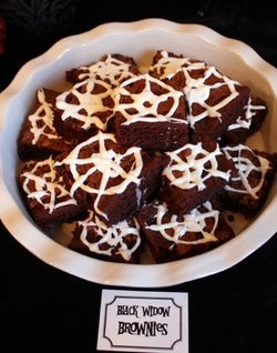 Black Widow Brownies