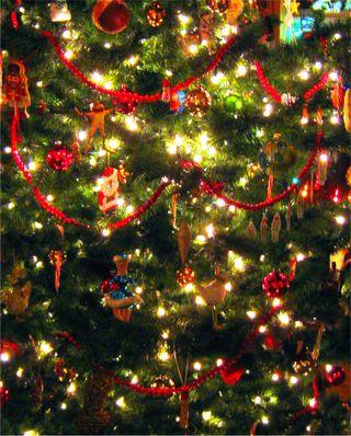Manipulated Christmas Tree