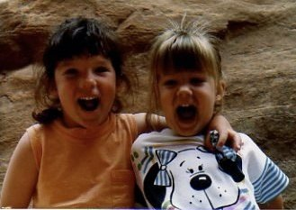 Colie & Beccah at Arches
