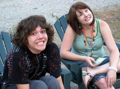 Barty & Beccah at the Parade