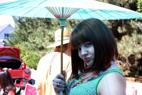 Beccah & Umbrella