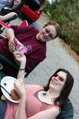 Jennafer & Megan at the parade