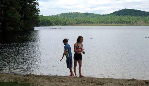 Tony & Olivia at Kayaking