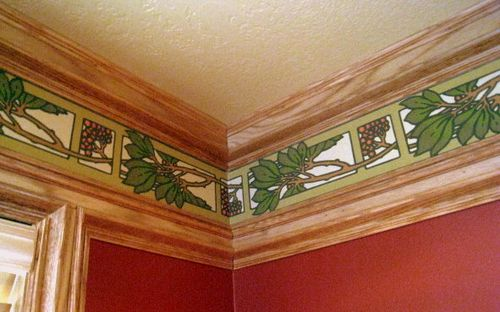 Frieze in Family Room